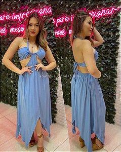 Vestido Paty Azul