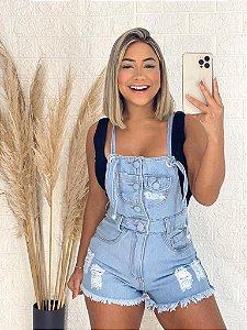 Jardineira Jeans Livia