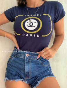 T-shirt Paris Azul