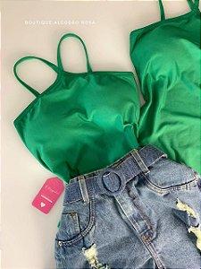 Body Cruzado Verde