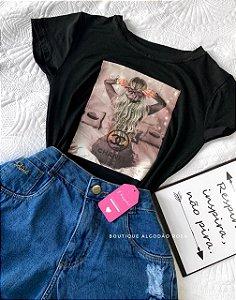 T-shirt Julie Preta