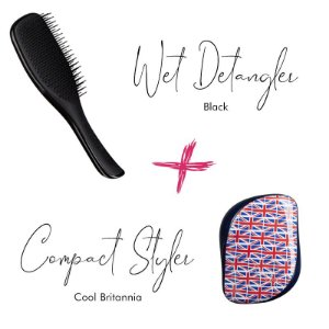 Kit Wet Detangler Black + Cool Britannia