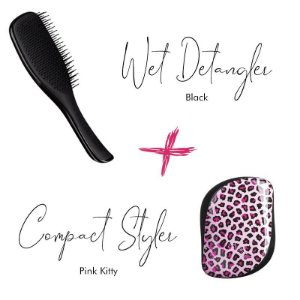 Kit Wet Detangler Black + Pink Kitty