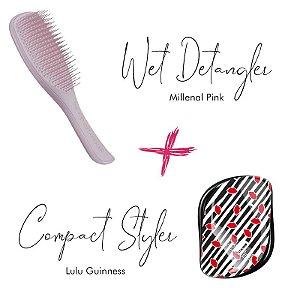 Kit Wet Detangler Pink + Lulu Guinness