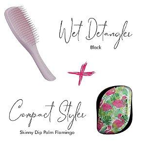 Kit Wet DetanglerPink + Palm Flamingo