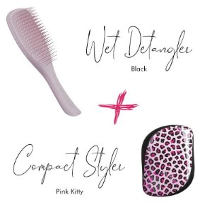 Kit Wet Detangler Pink + Pink Kitty