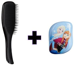 Kit Wet Detangler Black + Compact Styler Frozen