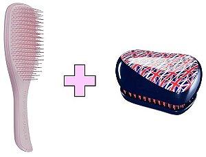Kit Wet Detangler Pink + Compact Styler Cool Britannia