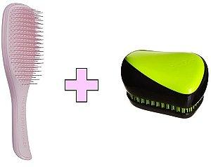 Kit Wet Detangler Pink + Compact Styler Yellow Zest
