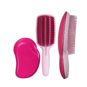 Kit 3 Passos- Original Pink Fizz, Full Paddle, Ultimate Pink + GANHE Nécessaire e Compact Styler