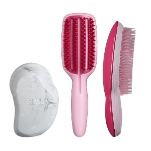 Kit 3 Passos- Original Grey Marble, Half Paddle, Ultimate Pink + GANHE Nécessaire e Compact Styler