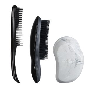 Kit Cabelos Finos- Wet Detangler Black, Grey Marble, The Ultimate Black