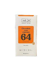 Barra de Chocolate 64% Cacau com Cupuaçu - KAÊ Chocolates