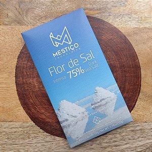 Barra de Chocolate Intenso 75% Cacau com Flor de Sal - Mestiço
