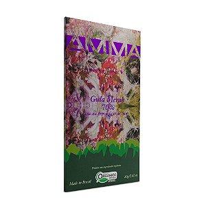Barra de Chocolate 70% Cacau com Açúcar de Coco Gula Merah - Amma