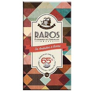 Raros - Chocolate Origem Linhares, Espírito Santo - 65% cacau com nibs