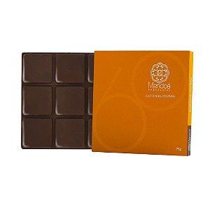 Barra de Chocolate 60% Cacau com Castanha-do-Pará Mendoá