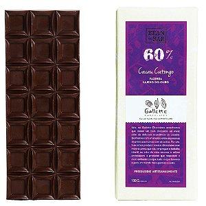 Barra de Chocolate 60% Cacau Catongo Gallette