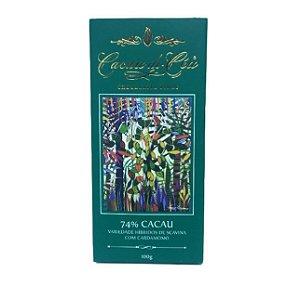 Barra de Chocolate 74% Cacau com Cardamomo - Cacau do Céu