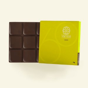 Barra de Chocolate 60% cacau com Coco Mendoá