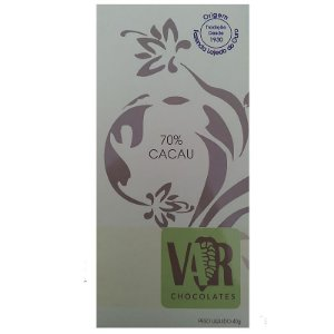 Barra de Chocolate -  VAR - 70% Cacau