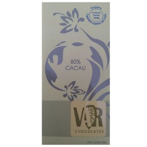 Barra de Chocolate - VAR - 80% Cacau