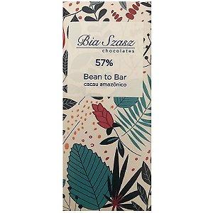 Barra de Chocolate ao leite 57% Cacau Amazônico Dark Milk - Bia Szasz