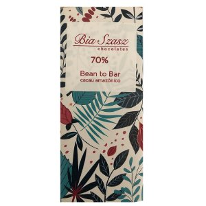 Barra de Chocolate 70% Cacau Amazônico - Bia Szasz