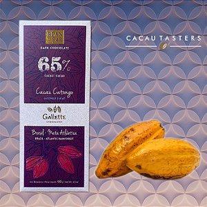 BARRA DE CHOCOLATE 65% CACAU - GALLETTE CHOCOLATES