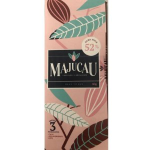 Barra de chocolate 52% CACAU DARK MILK - Majucau