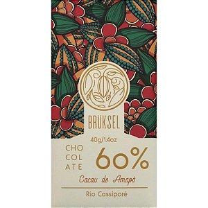 Barra de Chocolate 60% Cacau Rio Cassiporé - Brüksel