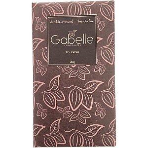 Barra de CHOCOLATE 71% CACAU - GABELLE CHOCOLATES
