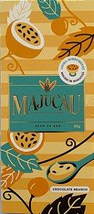 Barra de chocolate branco com Maracujá - Majucau