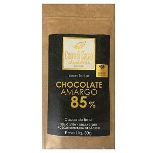 Barra de Chocolate Amargo 85% Cacau  - Cuore di Cacao