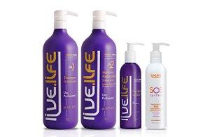 Kit Cauterização para cabelos loiros