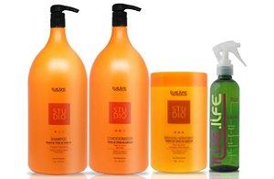 Kit Cauterização para cabelos coloridos