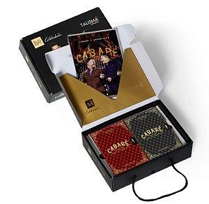 KIT ESPECIAL 2 PERFUMES (1 masc. + 1 fem.) + CD + DVD Cabaré