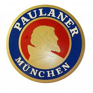 Quadro Laqueado em Relevo Cerveja Paulaner Munchen
