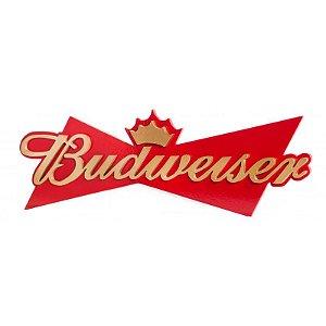 Quadro Laqueado Cerveja Budweiser