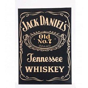 Placa Laqueada em Relevo Jack