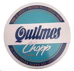 Placa Cerveja Quilmes 3D Laqueada