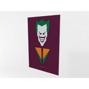 Placa Decorativa Personalizada Coringa Batman