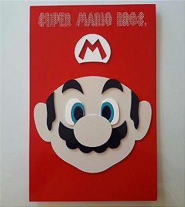 Quadro Decorativo Super Mário Bros