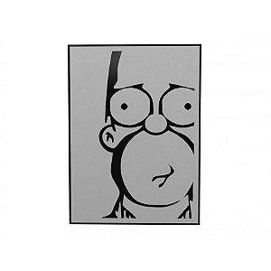 Quadro Decorativo Personalizado Homer Sério