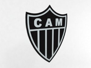 Placa Decorativa Atlético Mineiro
