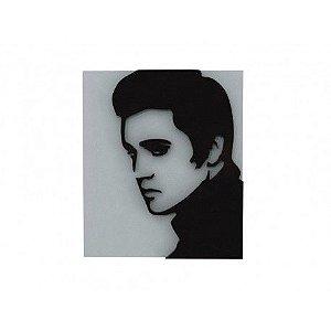 Quadro Laqueado Relevo Elvis Presley