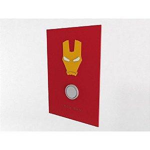 Placa Decorativa Personalizada Homem de Ferro