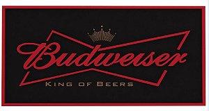 Placa Cerveja Budweiser Mdf Laqueada