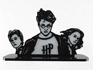 Adorno Laqueado Amizade Trio Harry Potter