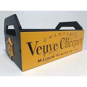 Bandeja Veuve Clicquot Laqueada 3D Mdf